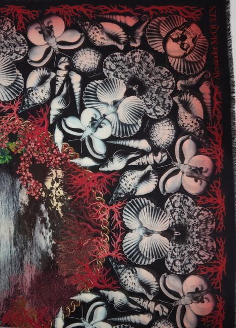 Alexander McQueenDream Shell scarf