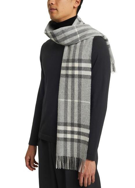 BURBERRYGiant Icon cashmere scarf