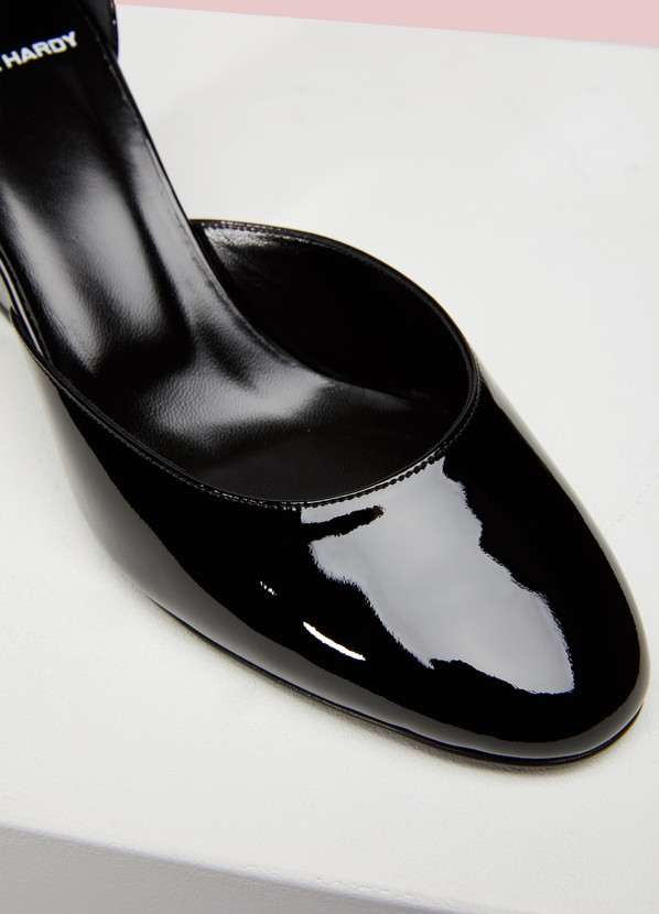Calamity leather pumps