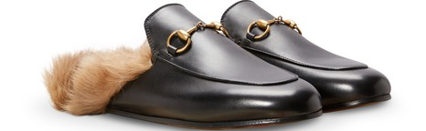 GUCCILeather Princetown Mules