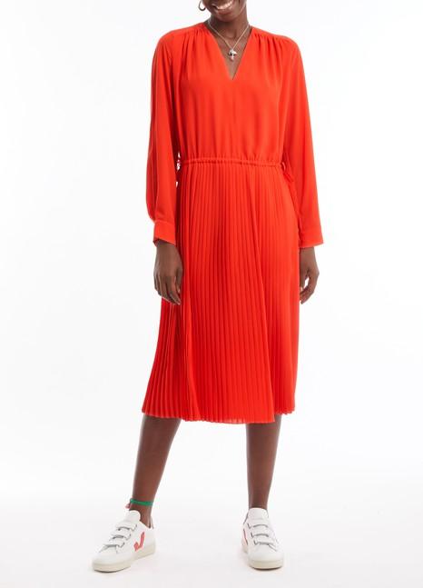 KENZOPleated midi-dress