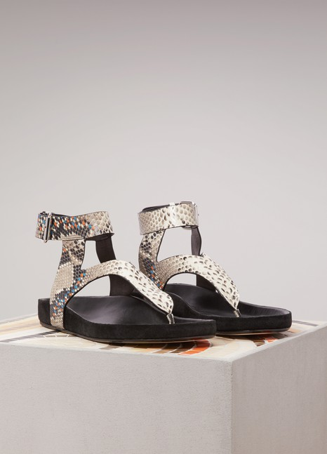 Isabel Marant Elwina leather sandals