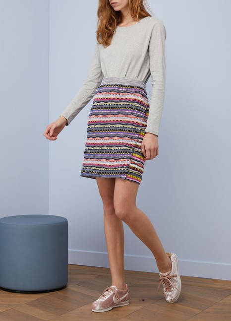 Carven Short cotton skirt