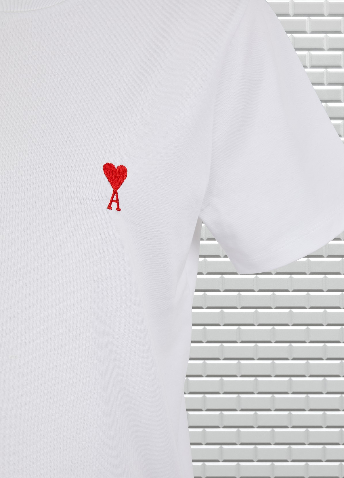 AMI Cotton heart t-shirt