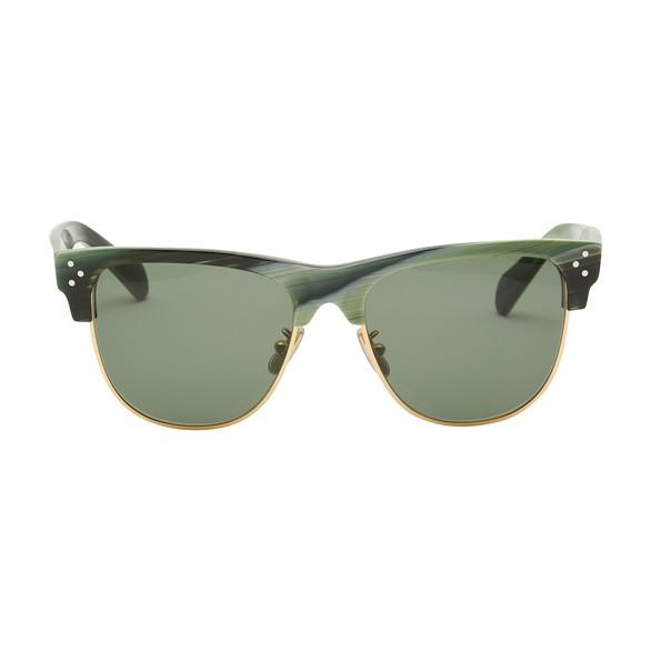 CELINEBlack Frame 13 acetate and metal sunglasses