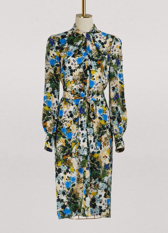 Amelia long sleeves dress Erdem fmlY4prq