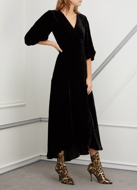 b3814583d912 Women's Leopard print sock ankle boots | Dolce & Gabbana | 24S | 24S