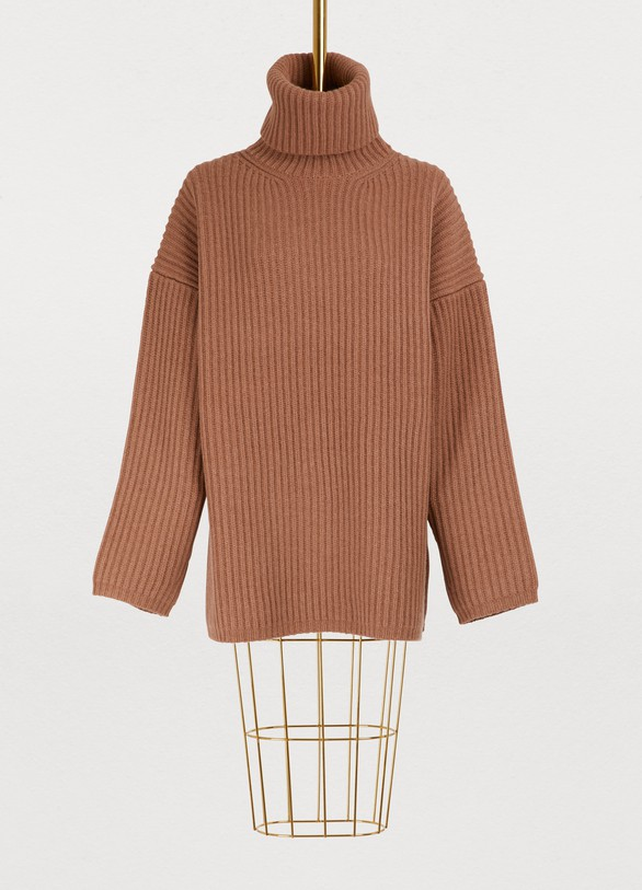 f8b0fee7d3b Acne Studios Oversized turtleneck wool sweater