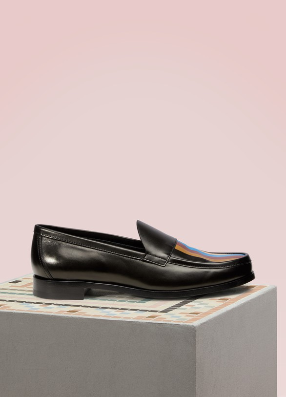 Pierre Hardy Hardy leather loafers