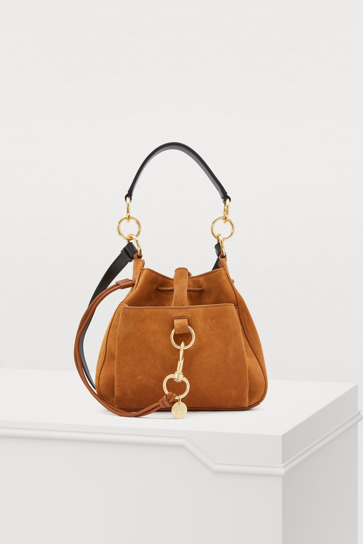 SEE BY CHLOÉ | Leather Bucket Bag | Goxip