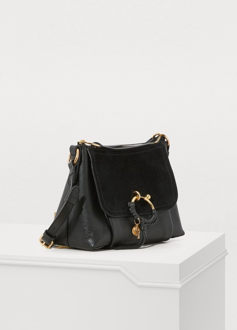 See by Chloé Leather and suede Joan shoulder bag