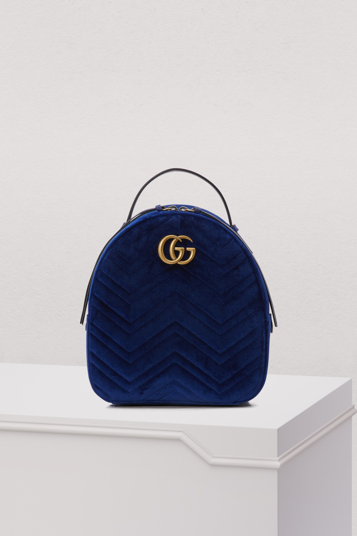 6b19e0c359be Gucci - Gg Marmont Quilted Leather Backpack - Ivory | Goxip