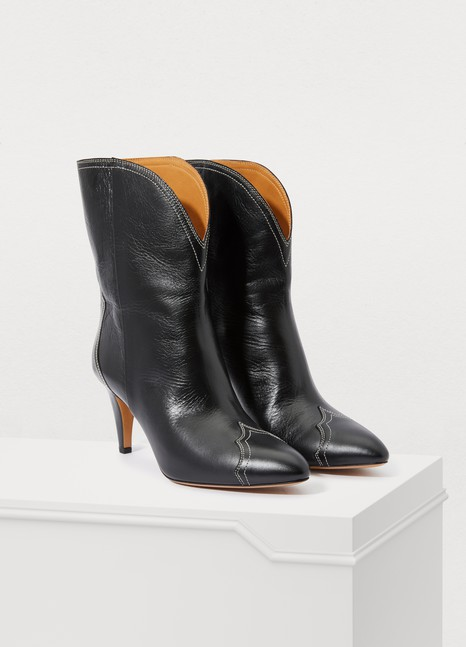 ISABEL MARANTDythey heeled ankle boots