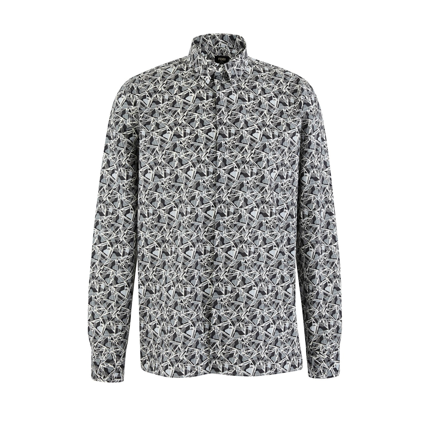 Chemise Cubic Eyes Allover