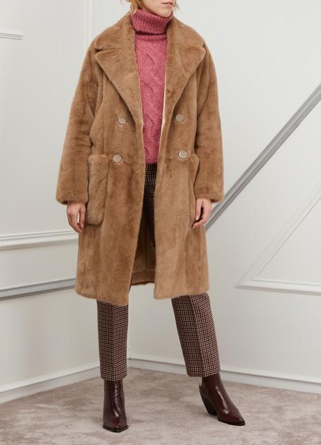 Yves SalomonMink fur coat