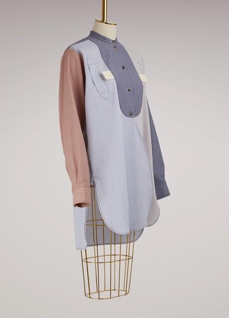 JW AndersonChemise patchwork en coton