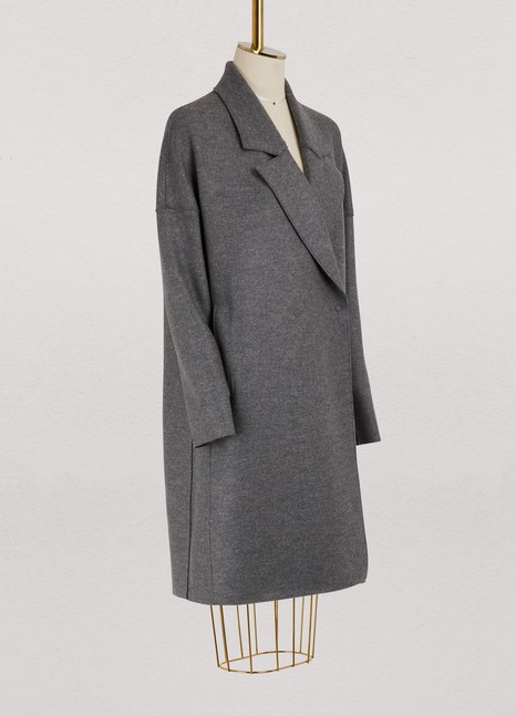 Harris Wharf London Virgin wool oversized coat