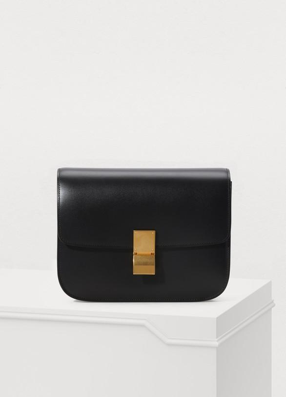 fb7db40ba6a7c3 Women's Medium Classic bag in box calf | CELINE | 24S | 24S