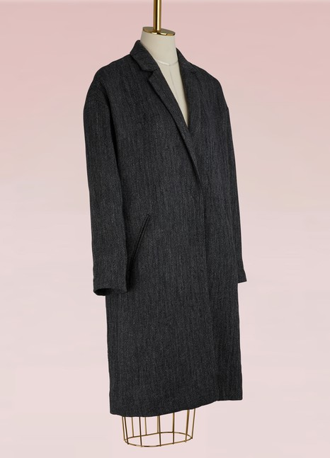 Forte_ForteWool and linen coat