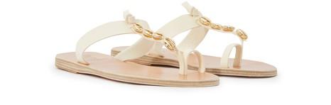ANCIENT GREEK SANDALSIris Gold sandals