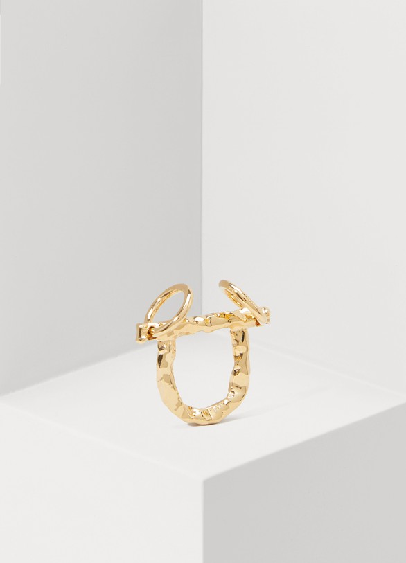Alican Icoz Double Circle ring