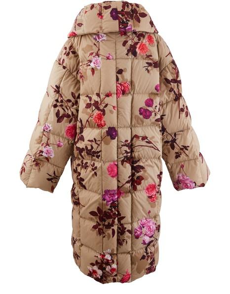 DRIES VAN NOTENPrinted winter jacket