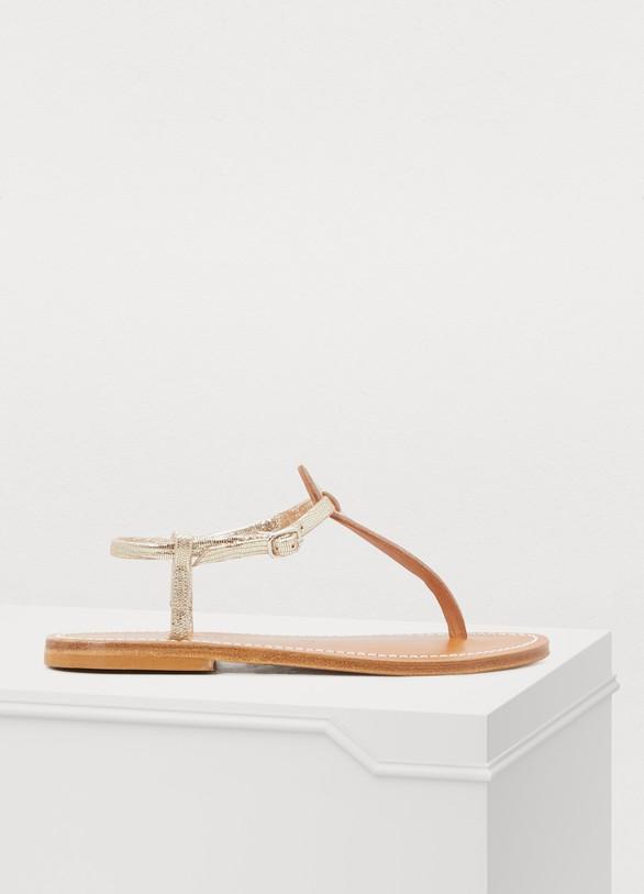 Picon disco sandals