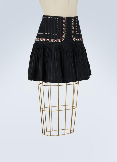 Isabel Marant EtoileLinen Jessie short skirt