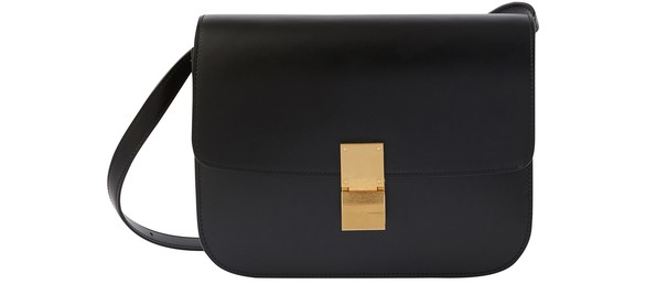 CELINE Medium Classic bag in box calf