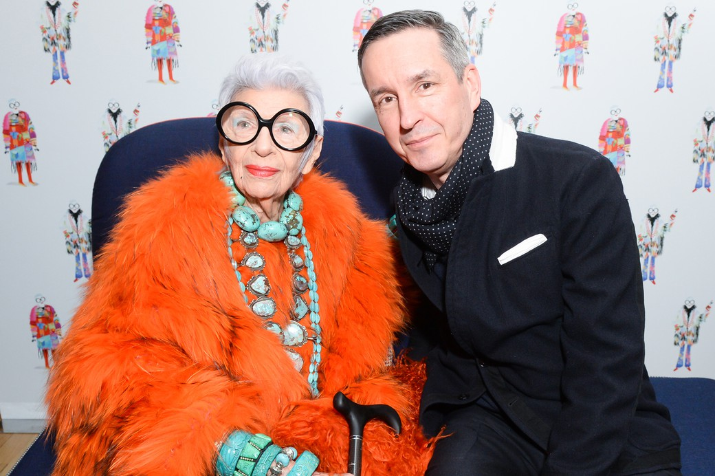 Iris Apfel & Dries Van Noten