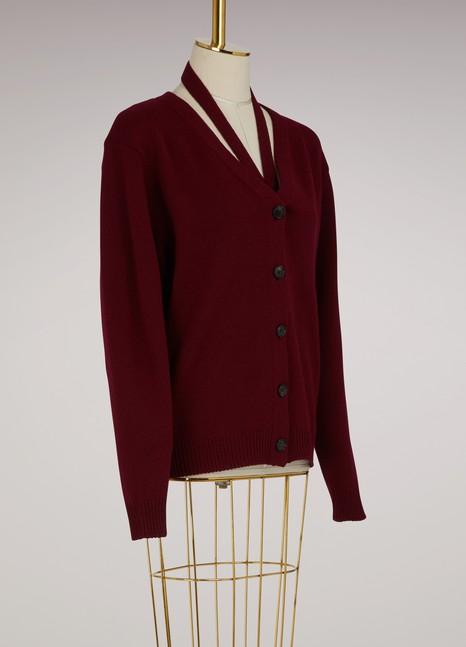 Victoria BeckhamCut-collar cardigan