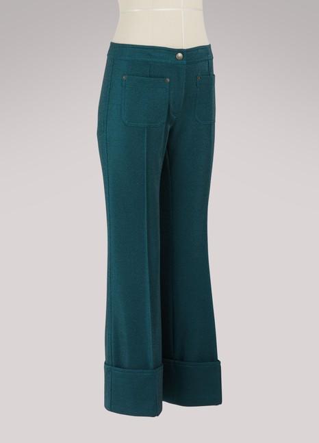 Marco de VincenzoStraight-cut pants