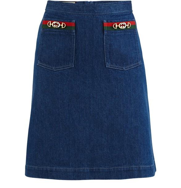 GUCCICotton skirt