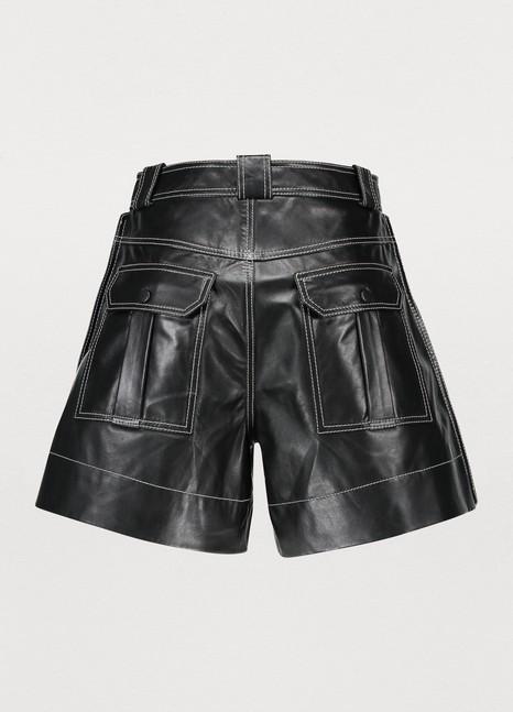 GANNILeather shorts