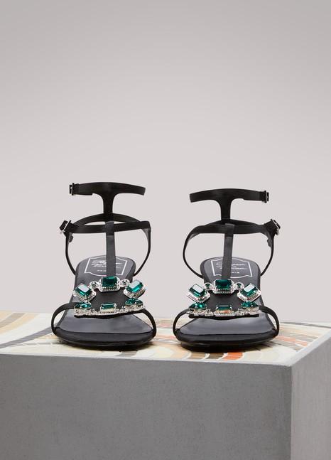 Sandales à talon avec couronne bijouxRoger Vivier tInmppJ6PV