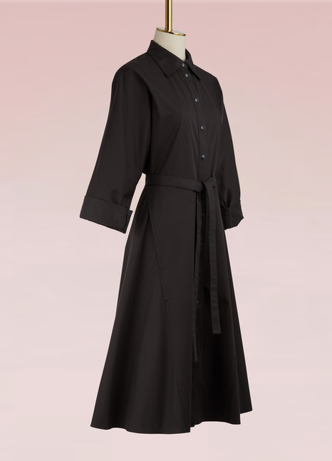 Nina RicciRobe chemise en coton