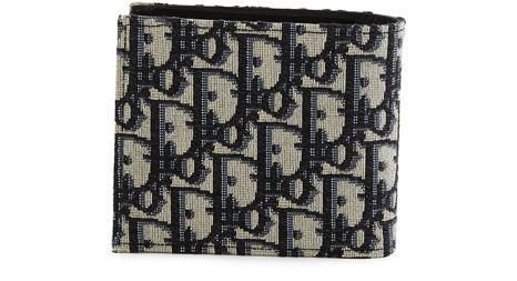 DIORDior Oblique Canvas wallet