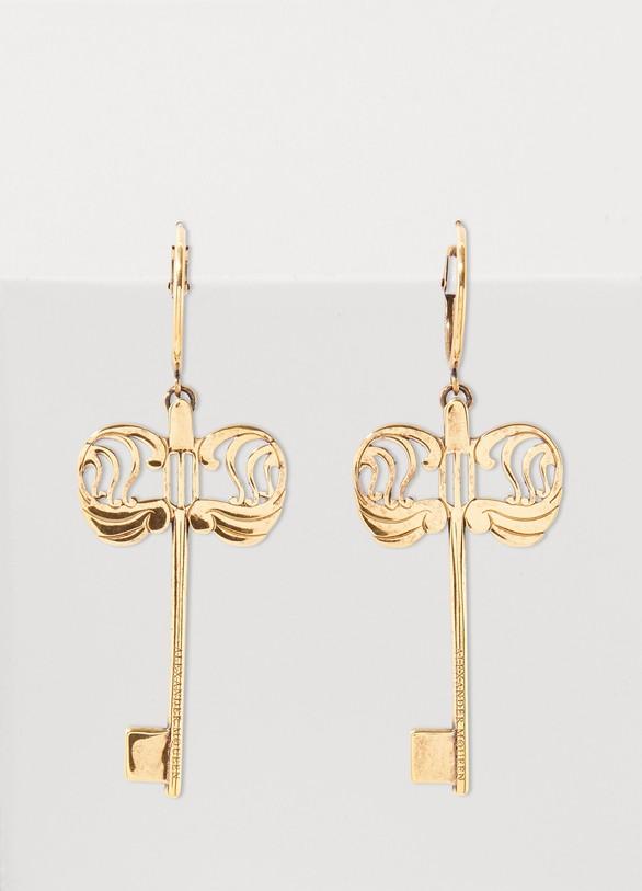 Alexander McQueenKey charm earrings