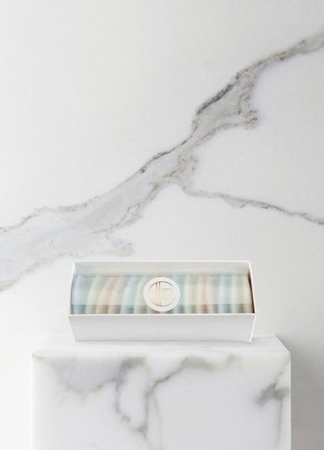 CLAUS PORTOWhite Guest Soap Box 15x10 g |15x0,4 oz