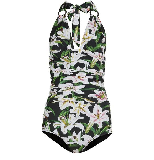 DOLCE & GABBANAPrinted swim suit