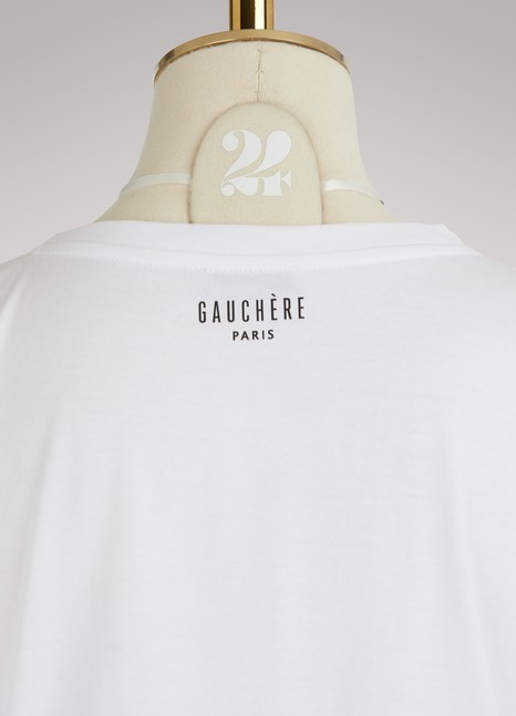 Laelle T-shirt Gauchère Discount Low Cost Cheap Sale Latest Collections Buy Cheap Release Dates Fashion Style Cheap Price AFUHlMCHcr
