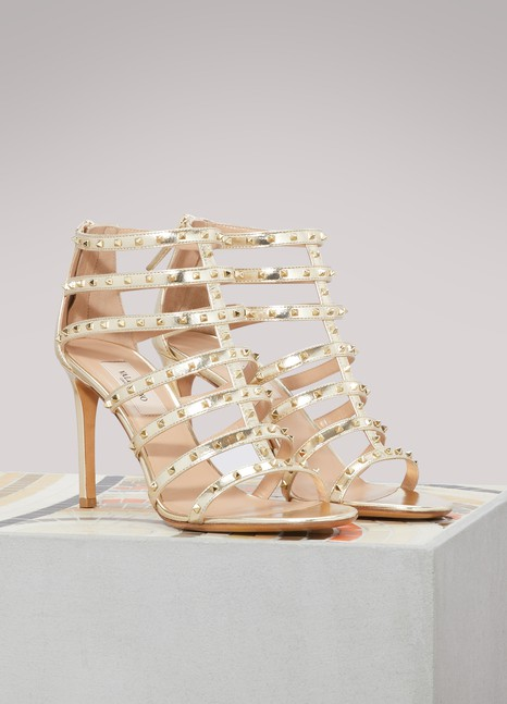 ValentinoLovestud heel sandals