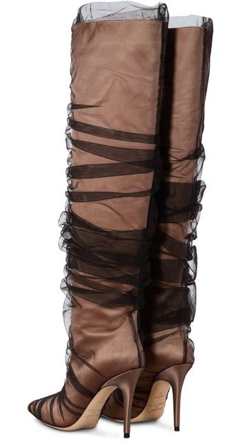 JIMMY CHOOx Off-White Elisabeth 100 boots