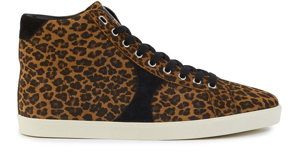 CELINE Triomphe high top trainers