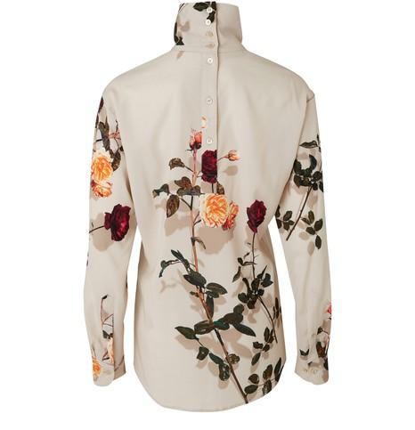 DRIES VAN NOTENPrinted blouse