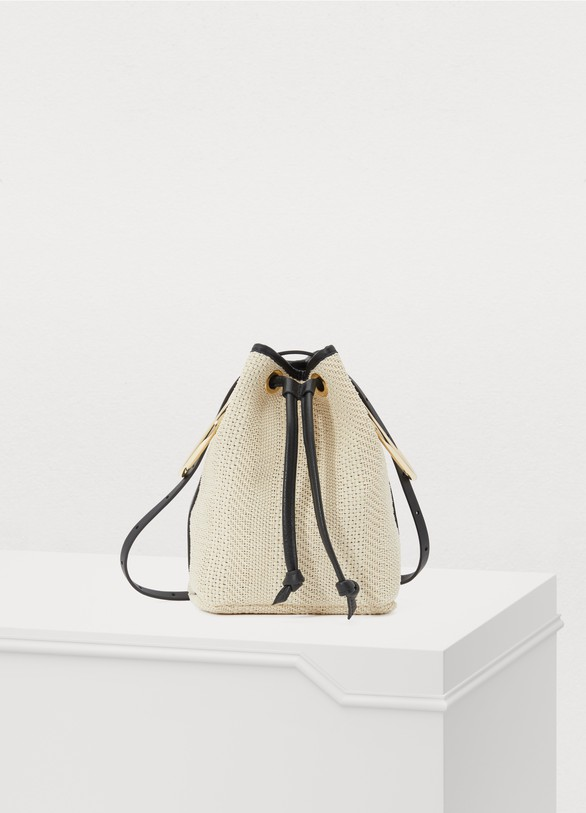 Maison BoinetBucket bag with rings