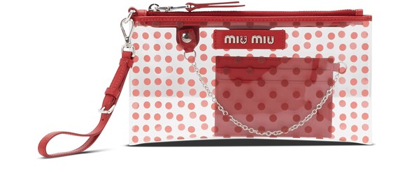 MIU MIUPVC small pouch