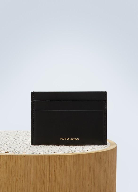 Mansur GavrielPorte-cartes en cuir