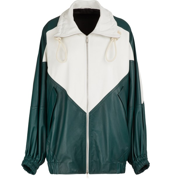 PLAN CLeather jacket