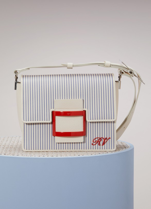 Roger Vivier Mini sac à main Viv' Shirting
